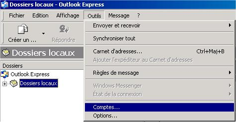 compte outlook expresse
