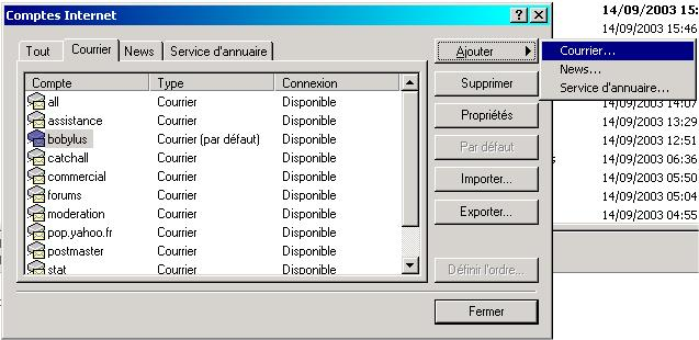 email outlook expresse