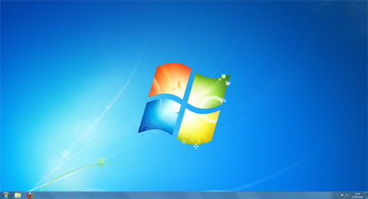 bureau de windows 7